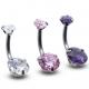 ring zirconia piercing jewelry