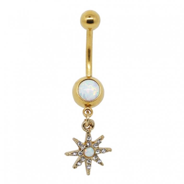piercing button jewelry