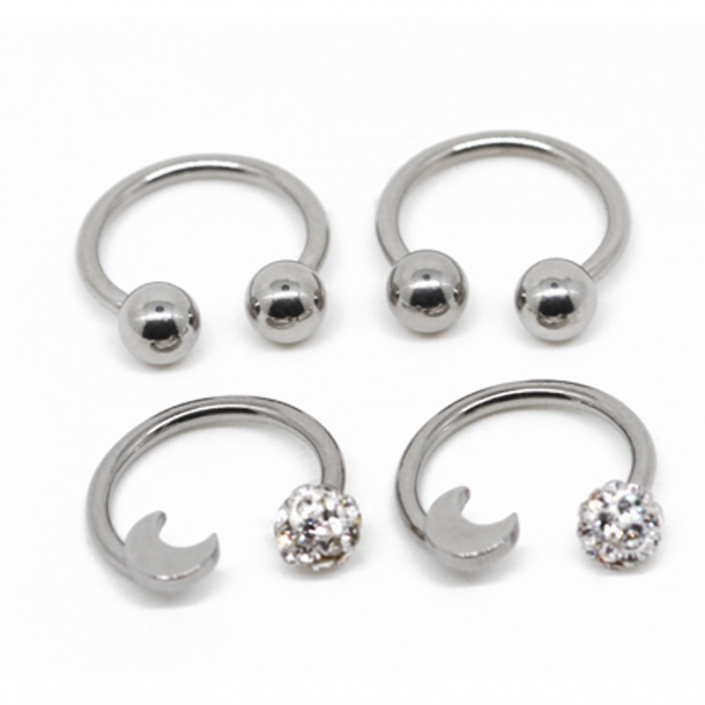 High Quality Septum Daith Nose Steel Body Piercing