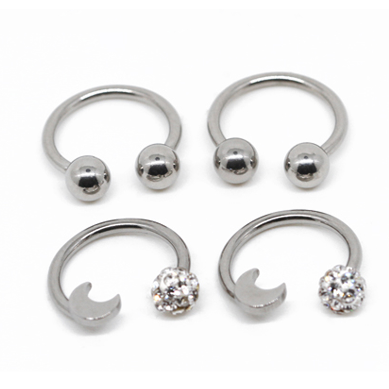 High Quality Septum Daith Nose Steel Body Piercing