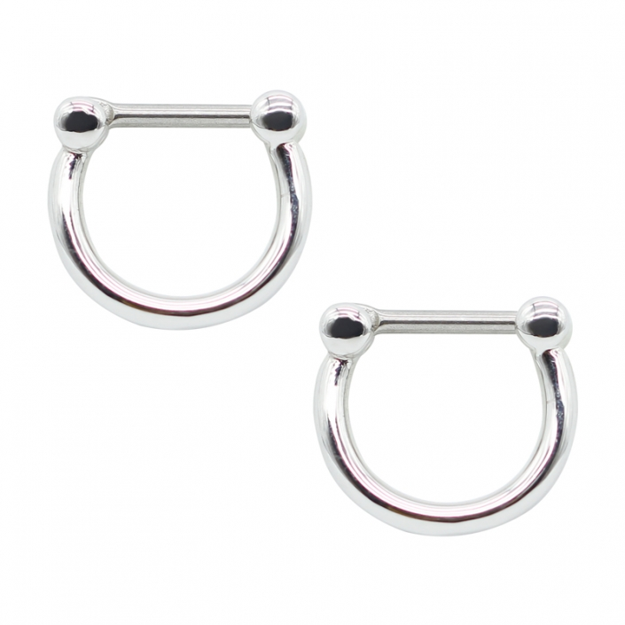 316 stainless steel septum clicker piercing Nose Rings