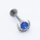 titanium piercing labret piercing