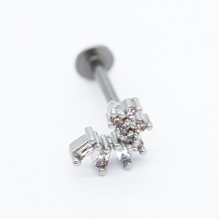 piercing labret titanium labret
