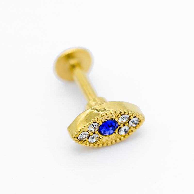 blue jewelry - piercing jewelry