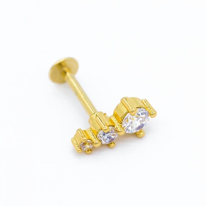 crystal piercing - piercing jewelry