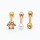 ear piercing - piercing jewelry set