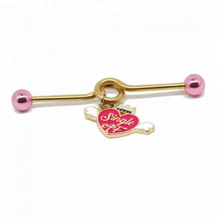 industrial piercing - body jewelry