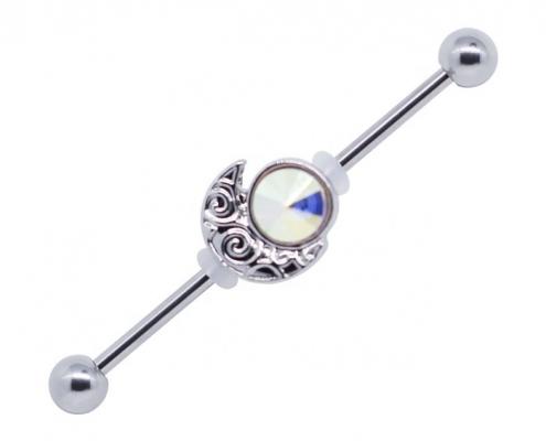 industrial piercing - piercing jewelry