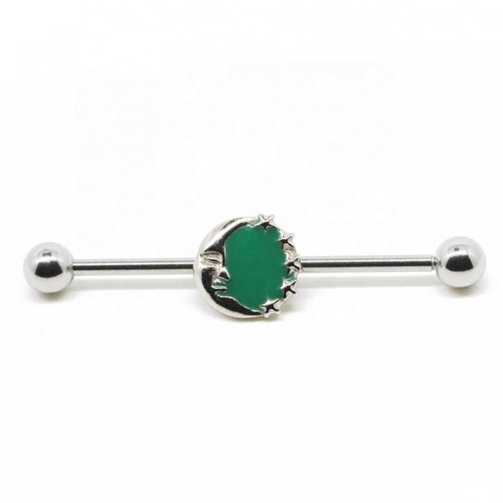 industrial barbell - industrial piercing