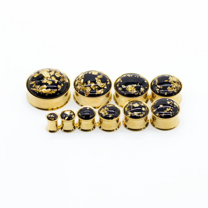 ear piercing gold plated